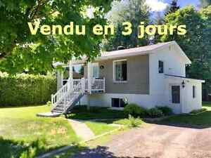 *** VENDU ***, ACCES LAC MARCHAND 75 rue Léo, St-Alphonse