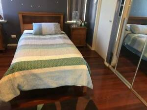 King Single Bed and Mattress Stirling Stirling Area Preview