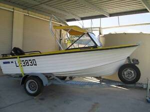 4.5 Metre Runabout Boat & Trailer With Mercury 70 HP Motor. Morayfield Caboolture Area Preview