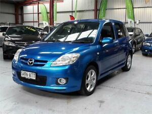 2005 Mazda 2 DY10Y2 Neo Blue 5 Speed Manual Hatchback Mawson Lakes Salisbury Area Preview