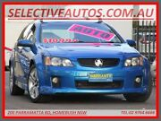 2009 Holden Commodore VE MY10 SV6 Blue 6 Speed Automatic Sportswagon Homebush Strathfield Area Preview