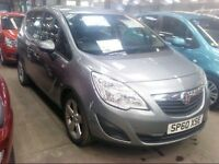 Vauxhall MERIVA EXCLUSIV TURBO -Finance Available to People on Benefits and Poor Credit Histories-