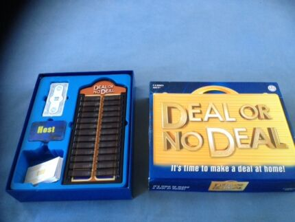 Deal board game deal or no deal card game