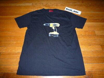 424 Fairfax Volt Tee Size Medium Black t shirt B