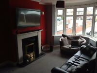 1 Double and 1 single room for rent in large house newly refurbished