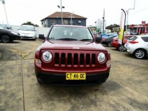 2015 Jeep Patriot MK MY15 Sport (4x2) Maroon 6 Speed Automatic Wagon Five Dock Canada Bay Area Preview