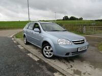 CHEVROLET LACETTI 1.8 SX 5d AUTO 120 BHP Years MOT and Service With (blue) 2010