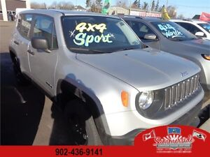 2015 Jeep Renegade Sport BACK UP CAM, SAVE OVER $6,600!!!