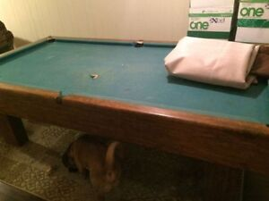 POOL TABLE!  NEED TO SELL FAST!!