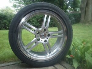 "4x TSW Indy 500 HyperSilver ""Twin-Spoke"" Wheel (18x8""/5x114.3mm)"