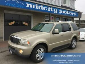 2004 Lincoln Aviator Ultimate/AWD/Sunroof/Leather/Accident Free!