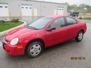 "2005 Dodge Neon SX 2.0  ""Certified"""