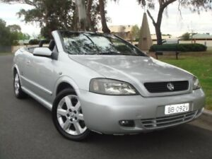 2002 Holden Astra TS MY03 Silver 4 Speed Automatic Convertible Broadview Port Adelaide Area Preview