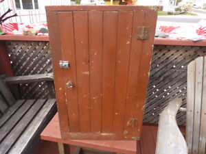 Antique Wood Cupboard