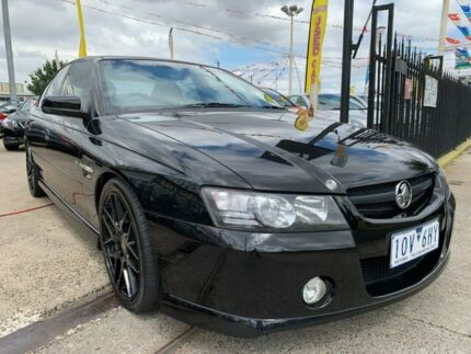 2004 Holden Commodore VZ SS Black 6 Speed Manual Sedan Maidstone Maribyrnong Area Preview