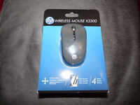 'Reduced' HP Wireless Mouse X3300, Brand New