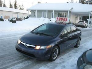Honda Civic DX-G 2007 PETIT BUDGET !!!