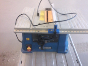 Mastercraft tablesaw