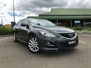 2012 Mazda 6 GH1052 MY12 Touring Grey Sports Automatic Hatchback Mount Druitt Blacktown Area Preview