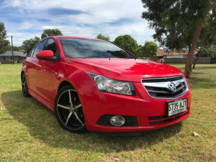 2010 Holden Cruze JG CD Red 6 Speed Sports Automatic Sedan Somerton Park Holdfast Bay Preview
