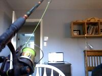 Canne a peche total tackle 662/series
