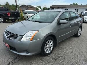 2012 NISSAN SANTRA, LOW KM, Certified E-TEST