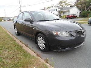 2006 MAZDA 3 WITH LOW MILEAGE & REMOTE STARTER !!!