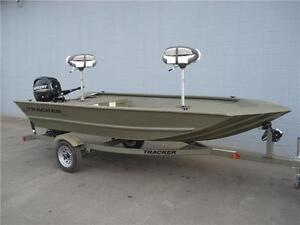 2015 Tracker Grizzly 1448-25hp E/S