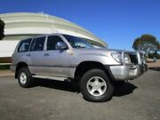 1998 Toyota Landcruiser FZJ80R GXL Silver 4 Speed Automatic Wagon Gepps Cross Port Adelaide Area Preview