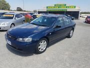 2002 Ford Falcon BA XT Electric Blue 4 Speed Auto Seq Sportshift Sedan Officer Cardinia Area Preview