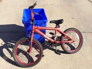 Boy's Hotshot Red Bike For Sale - Used only one season!