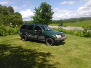 1999 Jeep Grand Cherokee Camionnette