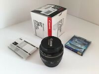 Canon EF 28mm f1.8 wide angle lens