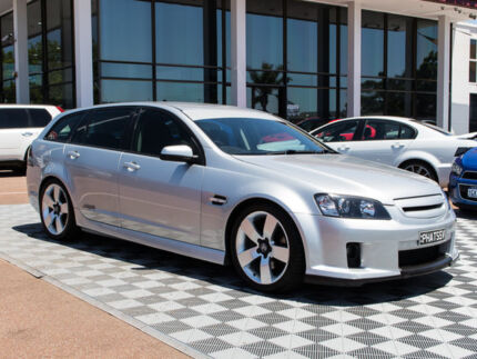 2008 Holden Commodore VE MY09 SS V Sportwagon Silver 6 Speed Sports Automatic Wagon Alfred Cove Melville Area Preview