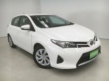 2014 Toyota Corolla ZRE182R Ascent S-CVT White 7 Speed Constant Variable Hatchback Edgewater Joondalup Area Preview