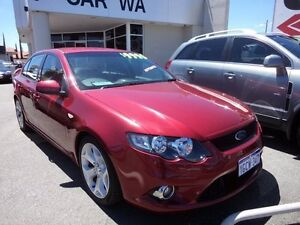 2009 Ford Falcon XR6 FG XR6 Red 4 Speed Automatic Sedan Victoria Park Victoria Park Area Preview