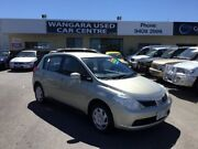 2007 Nissan Tiida C11 MY07 ST Gold 4 Speed Automatic Hatchback Wangara Wanneroo Area Preview