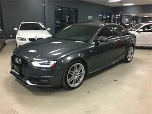 2013 Audi A4 Premium*S-LINE*NAV*PUSH START*NO ACCIDENTS*