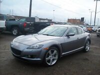 2005 Mazda RX-8 LEATHER/6SPEED/SUNROOF/EASY FINANCING