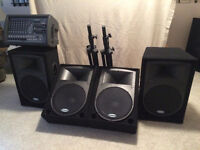 Small Sound System (PA) rentals