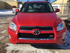 2011 Toyota RAV4 Limited 3.5L AWD Sunroof/Leather/Rearview Camer