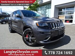 2016 Jeep Grand Cherokee SRT ACCIDENT FREE w/ 4X4, 6.4L V8 SR...