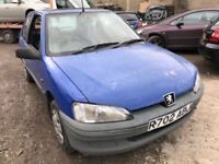 Cheap car of the day Peugeot 106 diesel, starts and drives, no MOT, hence price, car located in Grav