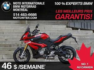 BMW S1000XR 2016 ( 46$/SEMAINES )