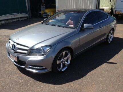 2012 Mercedes-Benz C250 W204 MY12 CDI BE Grey 7 Speed Automatic G-Tronic Coupe Berrimah Darwin City Preview