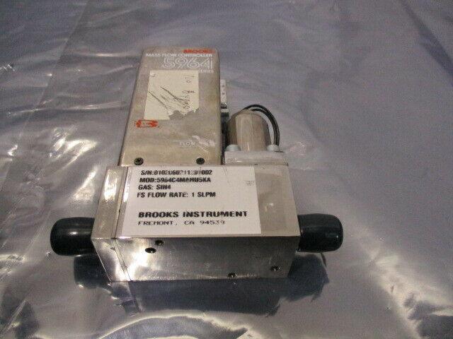 Brooks 5964, Mass Flow Controller, 5964C4MAHU5KA, SIH4 1 SLPM, 421683