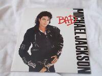 Vinyl LP Bad Michael Jackson Epic 450290 Stereo 1987