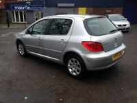 2005 (55plate) PEUGEOT 307 - EXCELLENT SIZED FAMILY HATCHBACK.