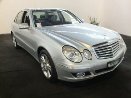2007 Mercedes-Benz E280 211 MY07 Upgrade Elegance Silver 7 Speed Automatic G-Tronic Sedan Clemton Park Canterbury Area Preview