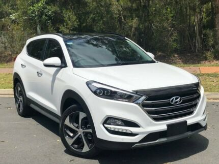 2018 Hyundai Tucson TLE Highlander White 6 Speed Automatic Wagon Buderim Maroochydore Area Preview